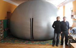 """Planetarium mobilne """"Aries"""""""