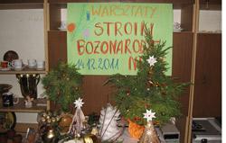 Warsztaty stroiki świąteczne