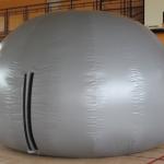 Wygląd zewnętrzny planetarium mobilnego